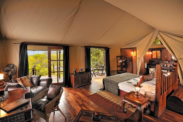 Serengeti Tanzania glamping