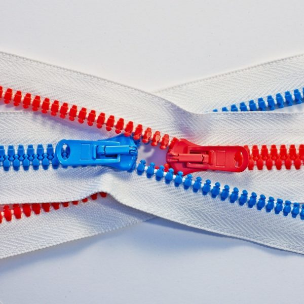 Eonic recycled outdoor gear zippers