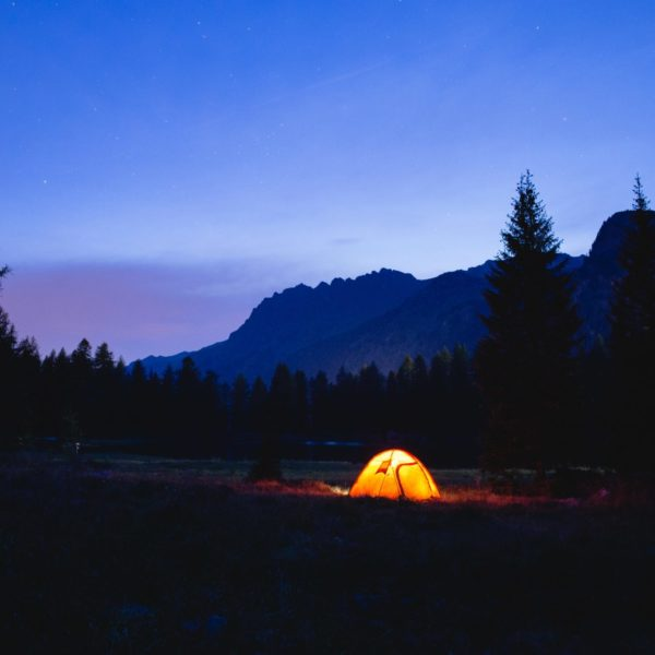 Free camping in Italy
