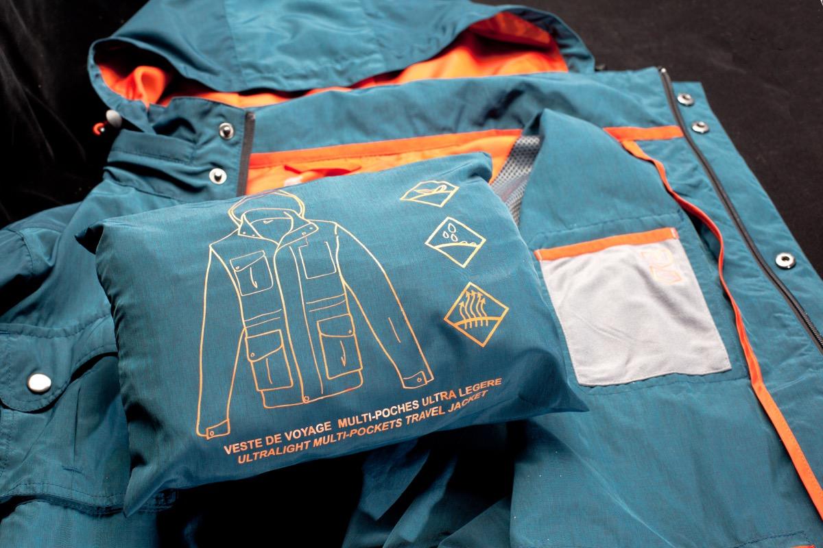 All purpose travel jacket